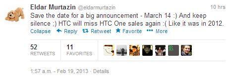 The tweet by Russian journalist Eldar Murtazin.