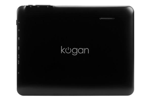 The back of the Kogan Agora Mini 8 Android tablet.