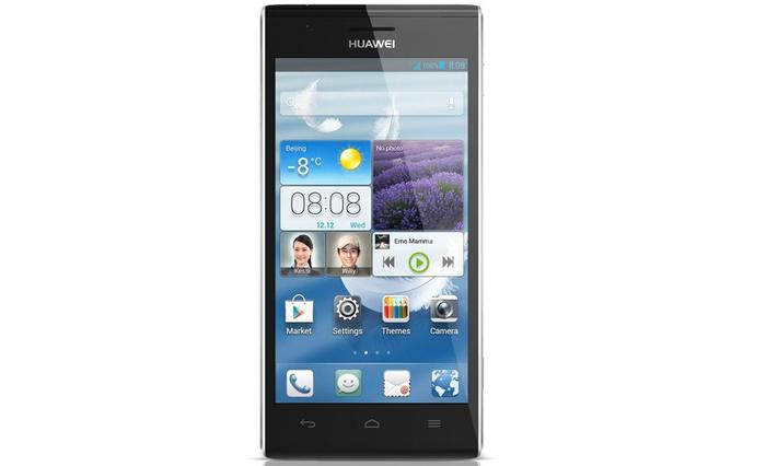 The Ascend P2 comes with Huawei's own Emotion UI 1.5 overlay on top of the Android 4.1 OS.