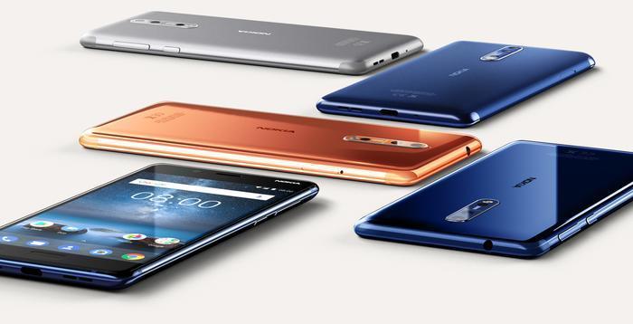 HMD Global Nokia 8