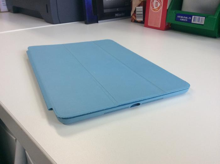 A photo we captured with the iPad Air's rear camera. (click to enlarge)