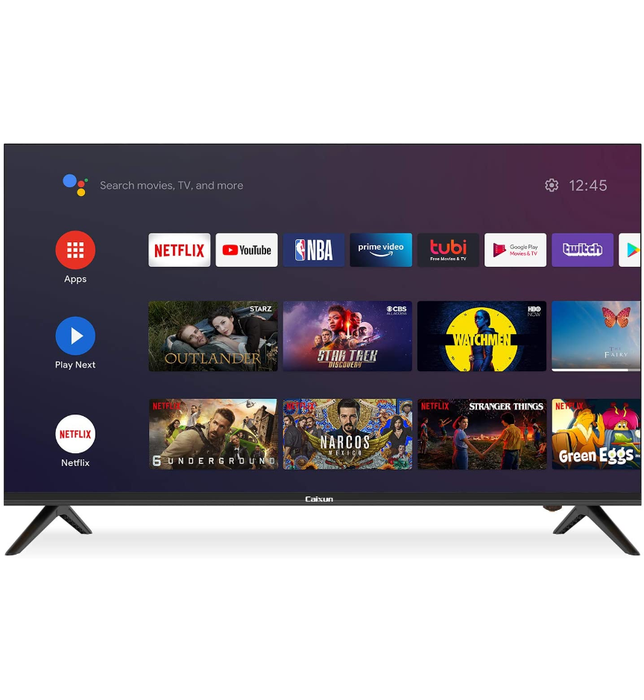 Caixun EC43S1A 43-Inch 4K UHD Smart LED TV