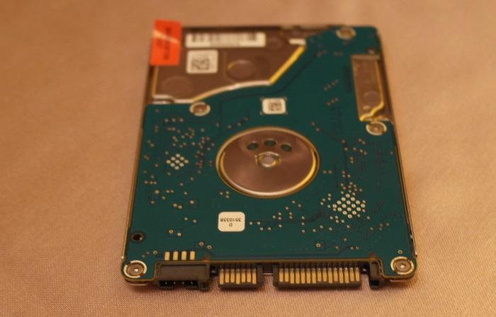 It may be thinner and ligher, but it still has a standard SATA interface.