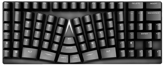 X-Bows Ergonomic keyboard Review: - PC Components