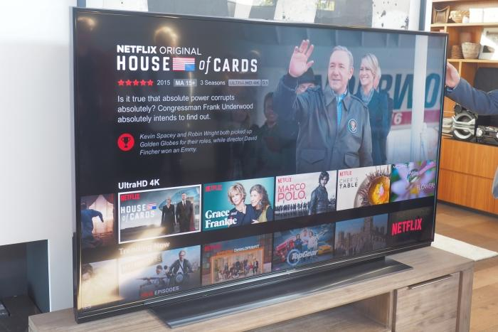 Panasonic's TV range for 2015 includes 11 4K models and lots of love for Netflix.