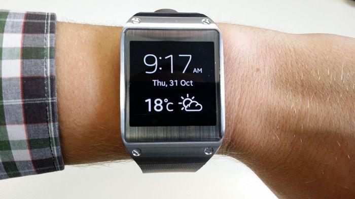 The original Samsung Galaxy Gear