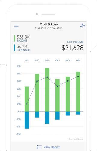 Intuit Quickbooks mobile app.