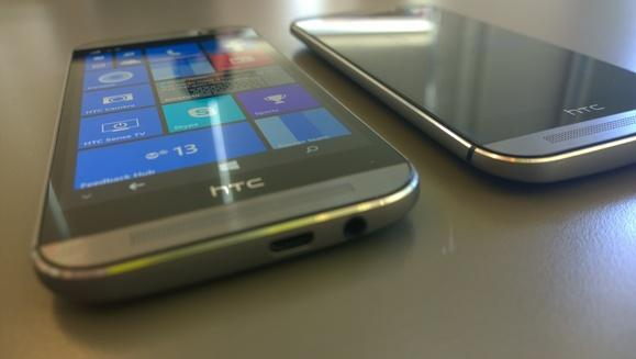 Android? Windows Phone? Until you power it on, it's hard to tell which is which.