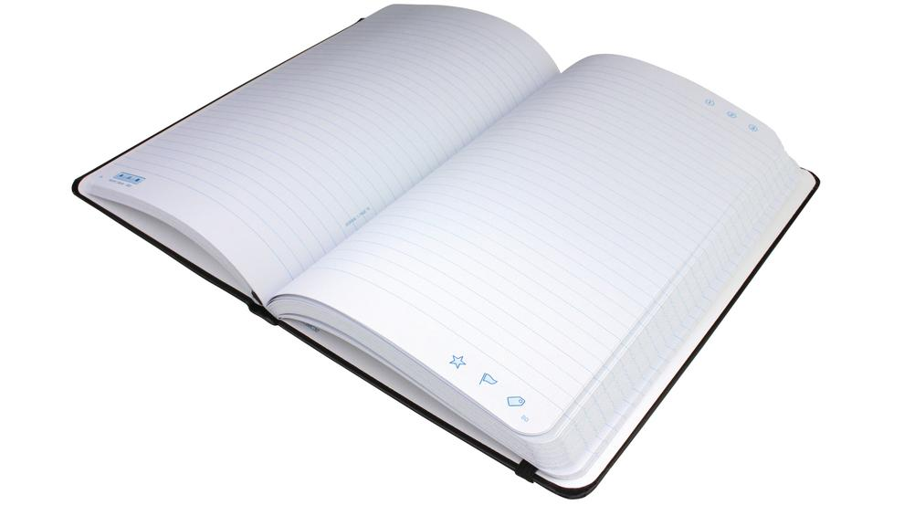 Livescribe's special digital paper operates in the same way but the new notebooks are simplified.