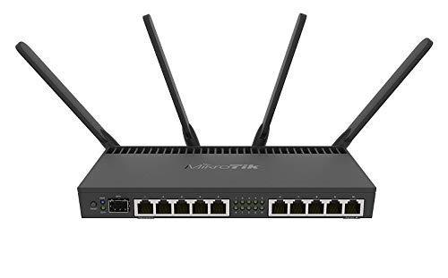 A MikroTik router
