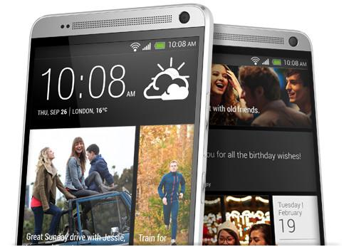 The One Max retains HTC's dual, front-facing BoomSound speakers.