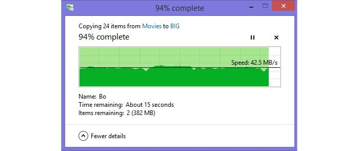 Big file transfer from 2m.
