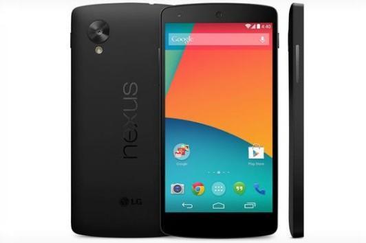 The Google Nexus 5.