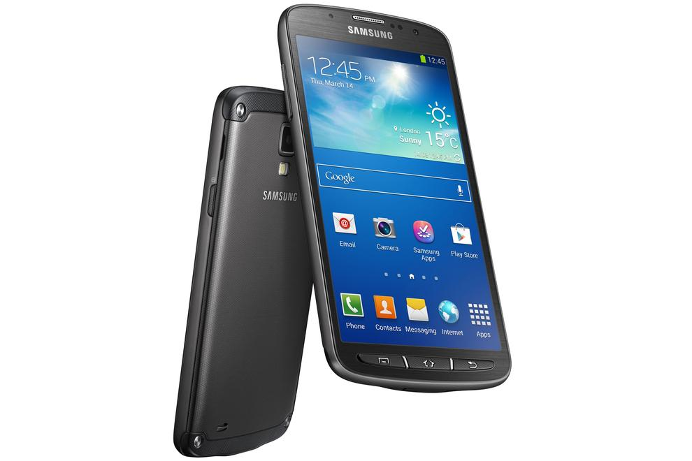The Galaxy S4 Active will survive being submerged in one metre of water for up to 30 minutes.