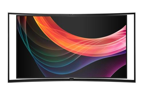 Samsung's 55-inch KN55S9C curved OLED TV