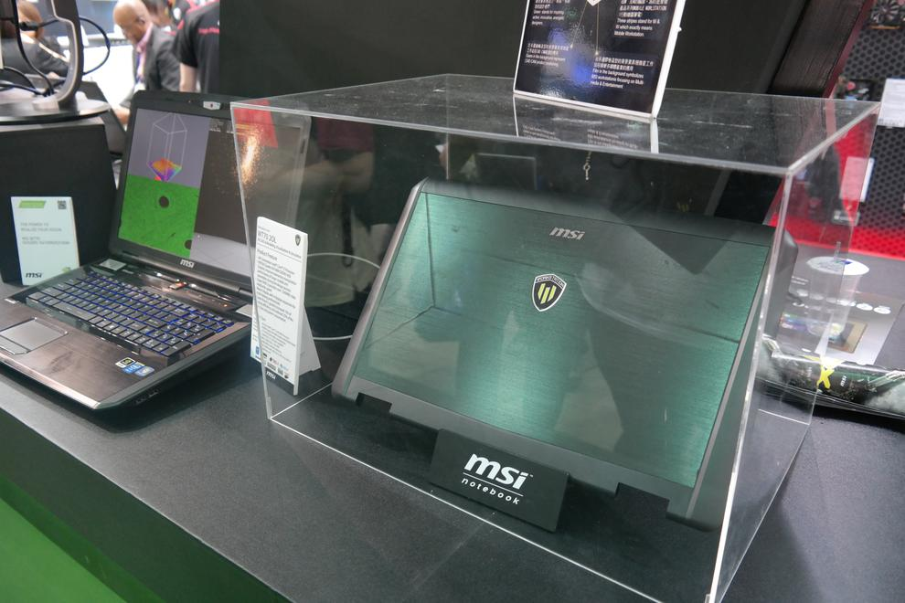 MSI casing presumably for the WT70
