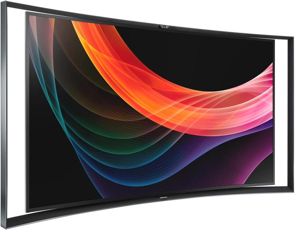 The 55-inch Samsung 55S9C OLED TV.