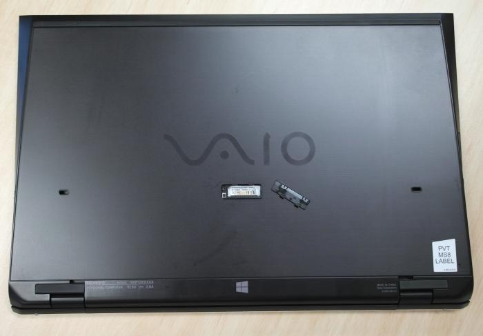 Sony also offers a second battery for the VAIO Pro 13. It's a sheet battery that can be connected to the underside of the laptop and it costs an extra $249.