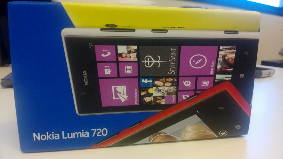 A photo we captured with the Nokia Lumia 720 (click to enlarge).