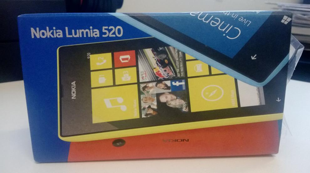 A photo we captured with the Nokia Lumia 520's camera (click to enlarge).