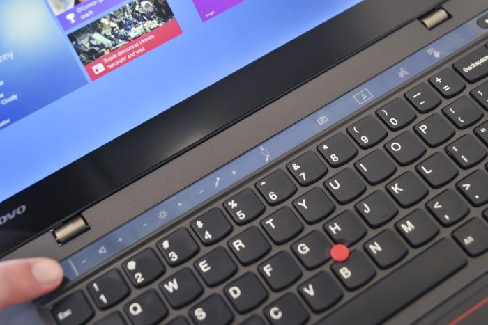 The Adaptive Keyboard changes dynamically depending on the content on the screen, or you can cycle through all the icons manually.