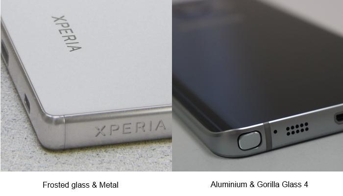 Sony Xperia Z5 Premium v Samsung Galaxy Note5