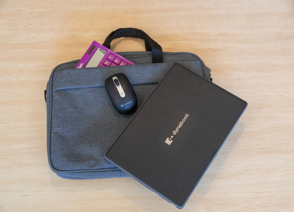 The Dynabook E10-S is both very lightweight and thin for portability.