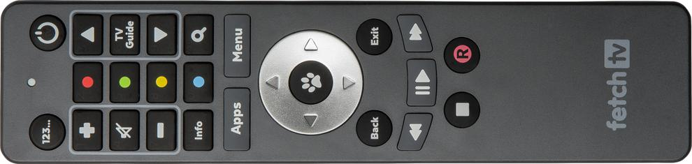 The Fetch TV remote