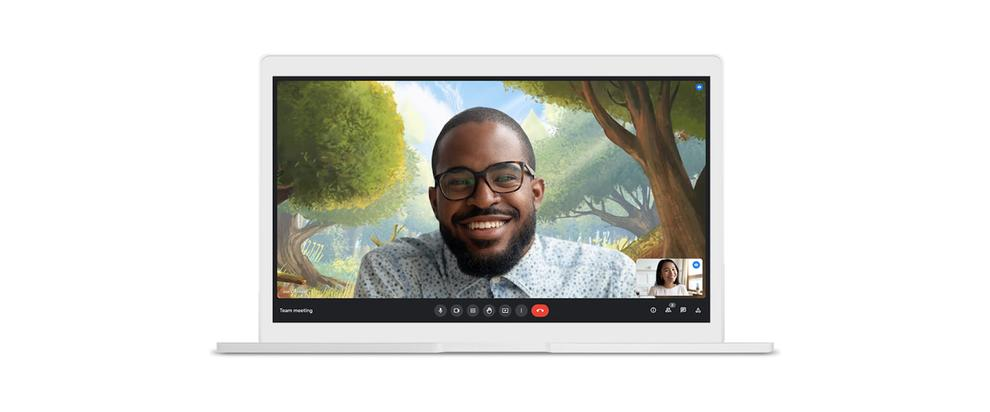 Video backgrounds are headed to Google Meet, too