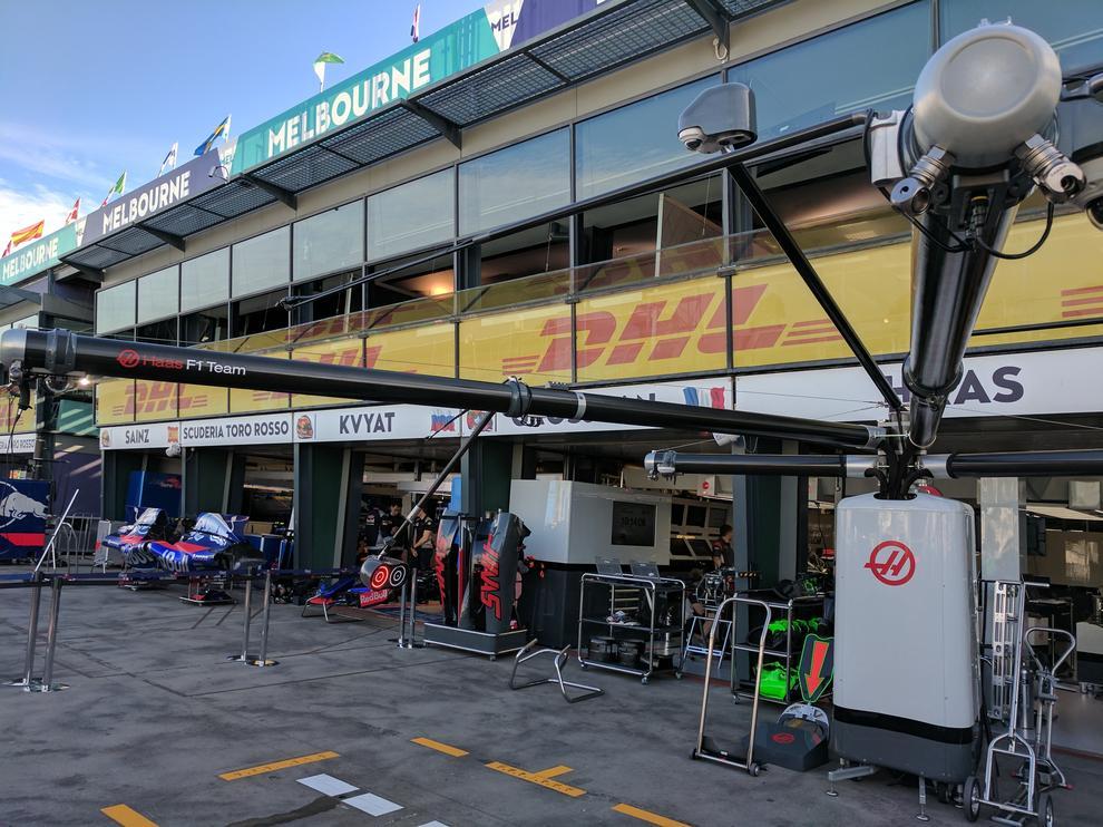 Haas F1 boom