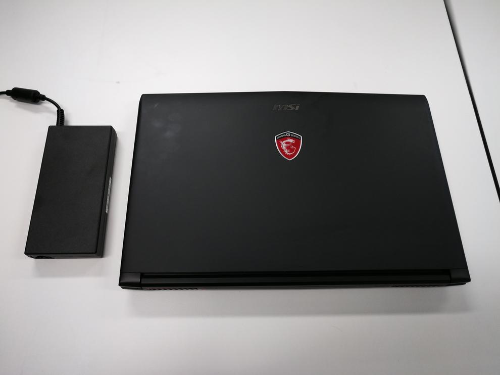 The GL62M laptop is slimmer and lighter than some of its siblings.