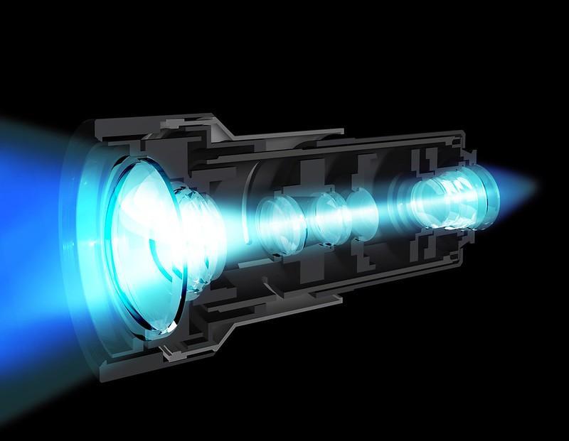 The ARC-F lens