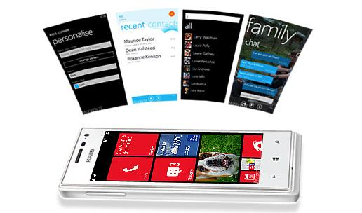The Ascend W1 is Huawei's first Windows Phone 8 device.