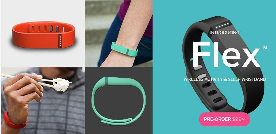 The Flex's slim, rubber design means you'll most likely never remove it, unlike the company's previous products.