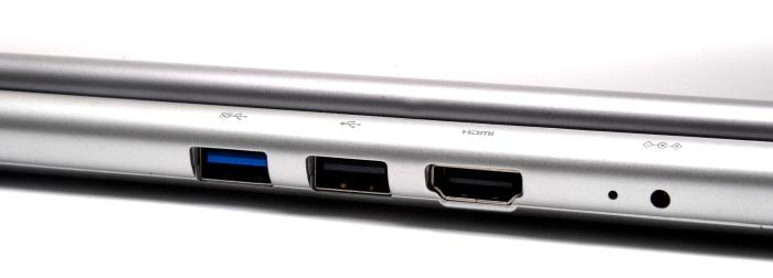 On the rear, you get USB 3.0, USB 3.0, HDMI and the power port.