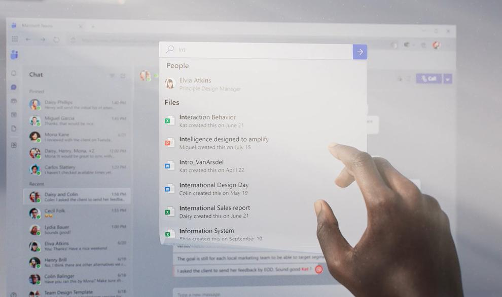What documents might you want to share in Teams? Microsoft says that AI may help to winnow down your choices