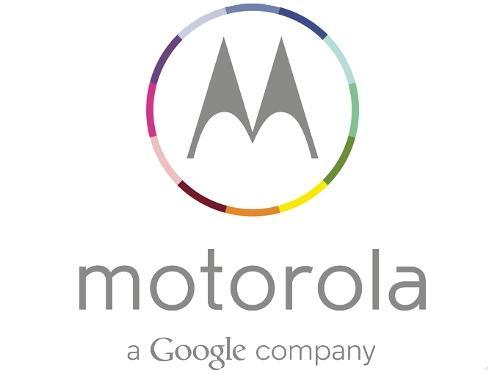 Motorola's new logo incorporates the Google brand.