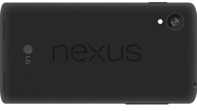 A mock-up of the purported Google Nexus 5 smartphone.