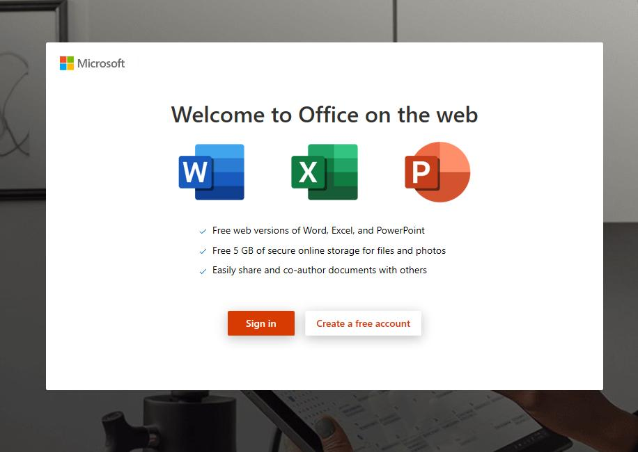 A free version, known as Office Online, offers the basics, and differs greatly from the paid-subscription experience.