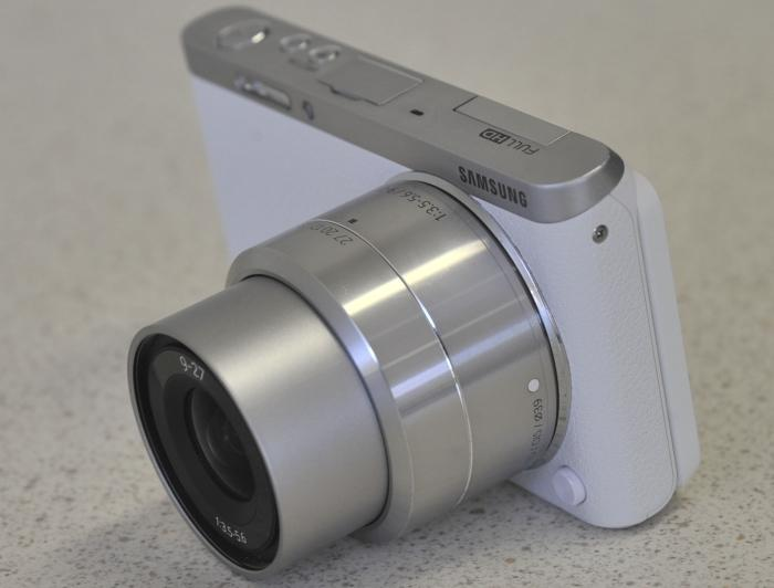 The body may be small, but the lens will make the camera hard to fit into your pocket.