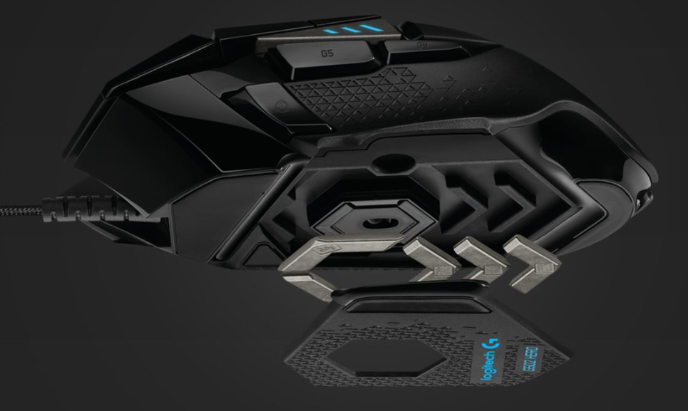 Logitech's flagship gaming mouse allows you to customise the weight