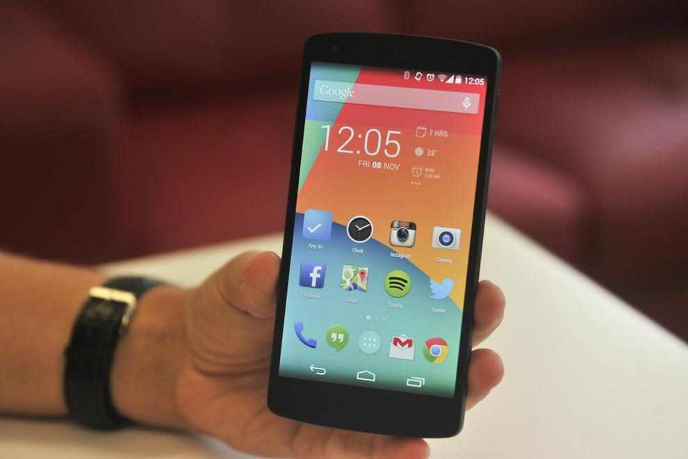 The Nexus 5 is one of the most powerful smartphones on the market.