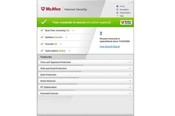 McAfee Australia Internet Security 2011