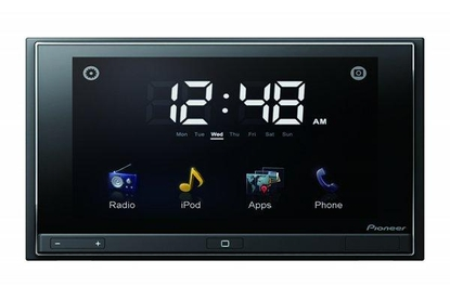 Pioneer AppRadio Review: Pioneer's car stereo concept runs apps from