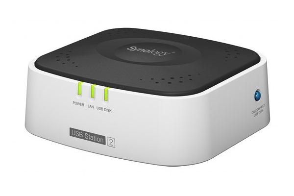 Synology USB Station 2 driveless NAS device