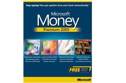 microsoft money 2005 review software and services financial