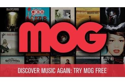 MOG Mobile Music