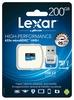 Lexar Media 200GB 633x microSDXC UHS-I card