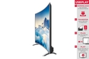 Kogan curved 4K 55-inch LED TV