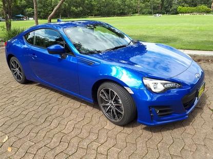 Subaru Australia BRZ 2017